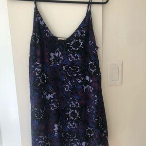 Wilfred Free (Aritzia brand) patterned mini dress.